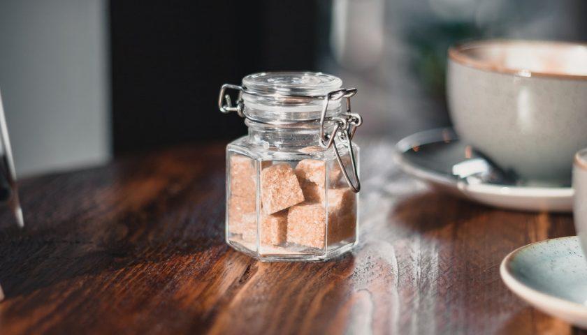 Des cubes de sucre