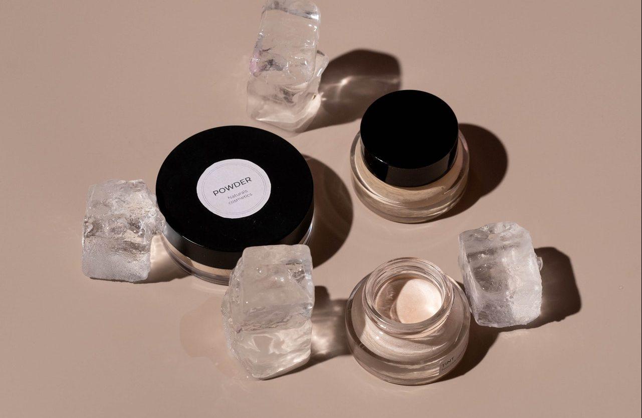 Échantillons de produits cosmétique
