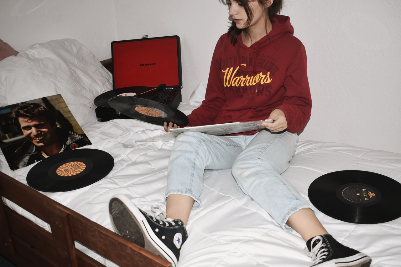 Chambre d'une adolescente